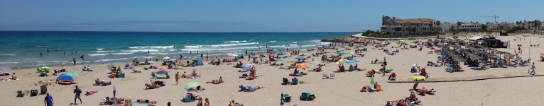 Plaża w Za Lenia
